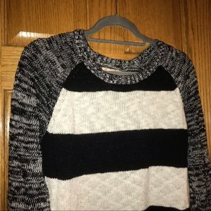 So Junior's cropped striped sweater